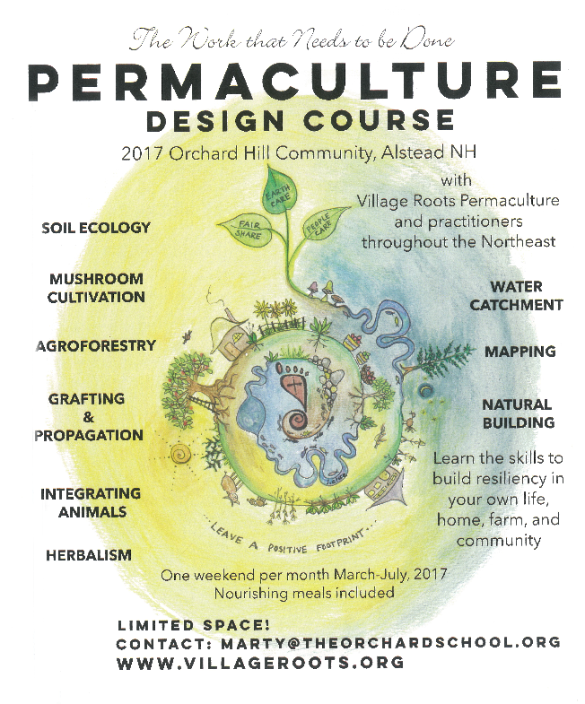 Permaculture Design Course 2017